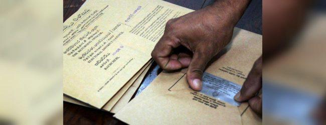 Polling card distribution begins tomorrow