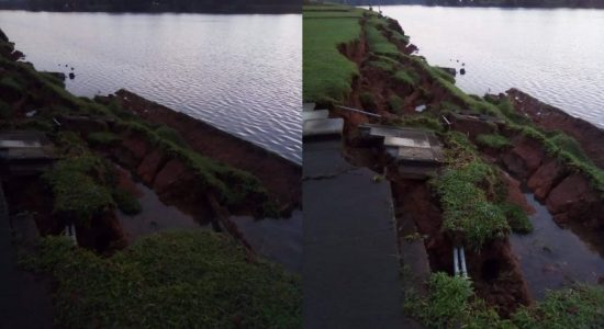 Section of the parliament pier collapses
