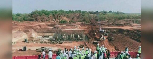 Explosion at the Aruwakkaru Sanitary Landfill