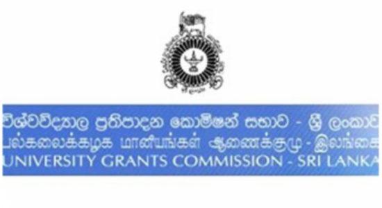 UGC informs all universities to recommence activities