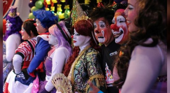 'Clowning around,' clowns from around the world gather in Mexico City