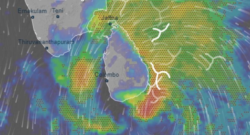 Atmospheric disturbance to cause heavy rains