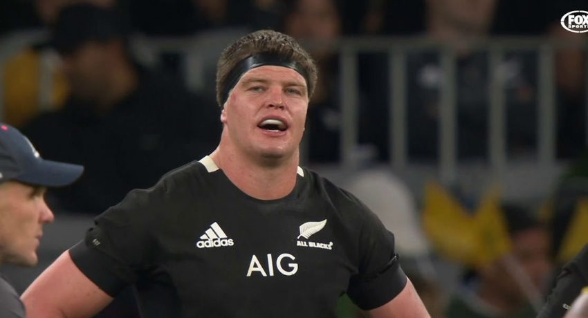 New Zealand lock Barrett in at flanker for England semi