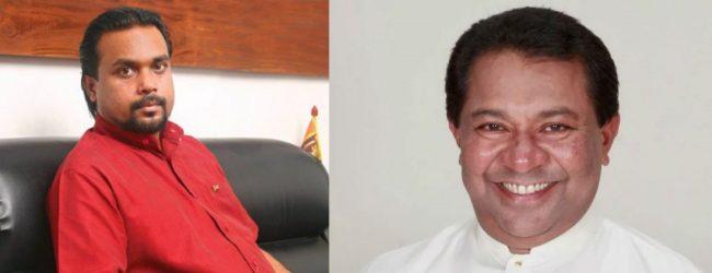 S.B. Dissanayake responds to Wimal Weerawansa