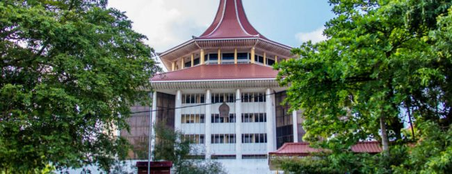 SC rejects petition filed by Methsiri de Silva