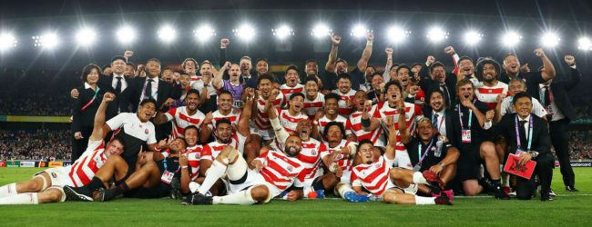 Brilliant Japan beat Scotland to reach World Cup quarters for first time