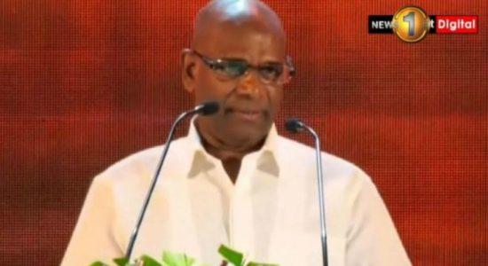 Presidential candidate Mahesh Senanayake arrived at Meera Makkam Masjeed