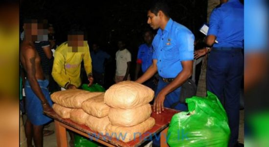 Navy arrests three people with 221 kg of Kerala ganja