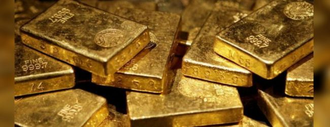 17 gold biscuits recovered at the BIA