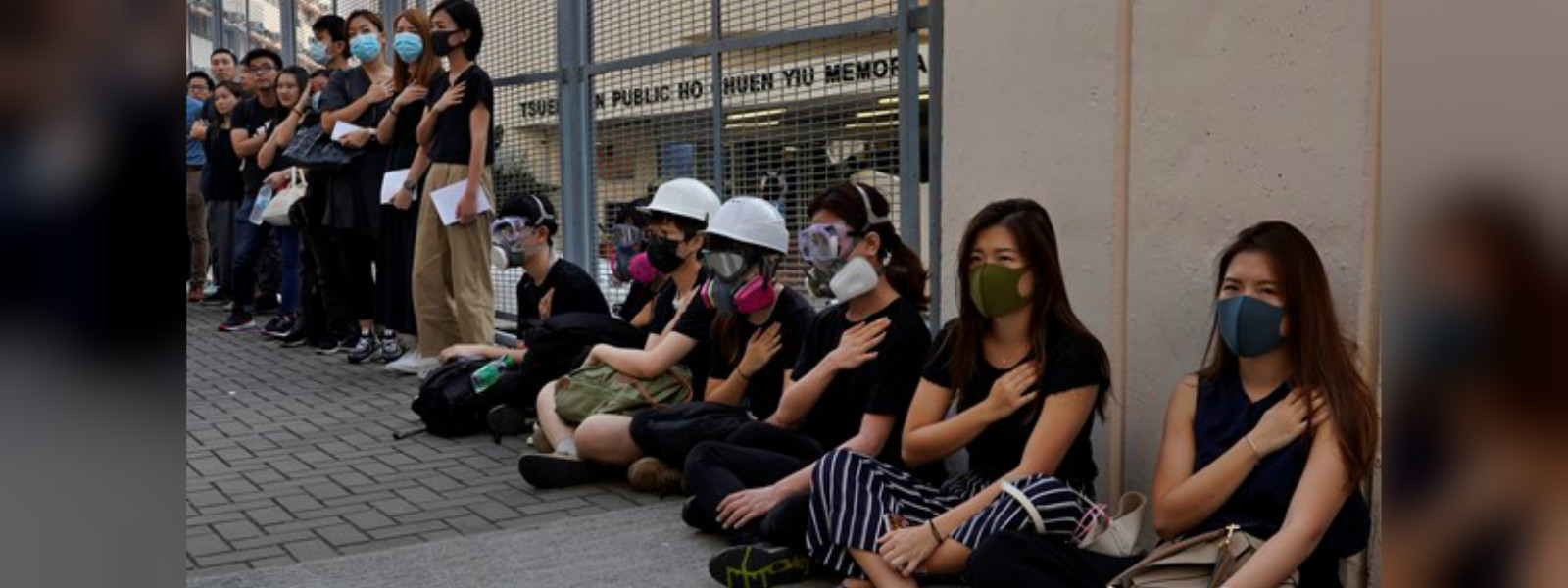 Students rally after Hong Kong police shoots teenage protester in chest