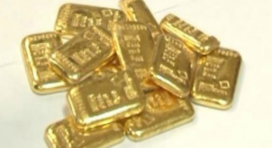 Suspect arrested with 40 gold biscuits at BIA