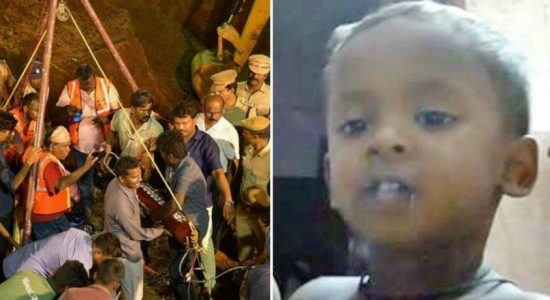 Tamil Nadu toddler trapped in a borewell dies after fighting for 4 days