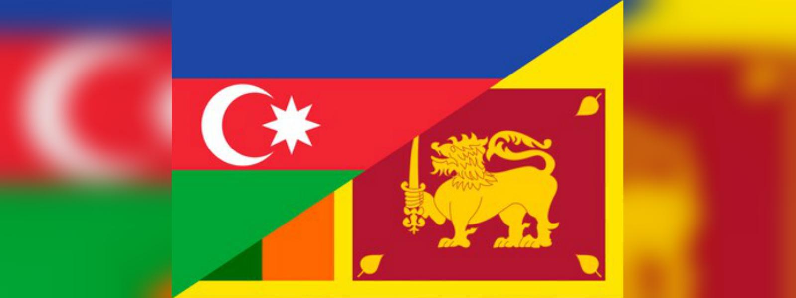 Sri Lanka and Azerbaijan discuss expanding cooperation