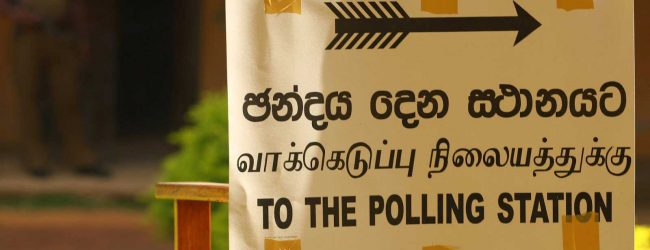 Elpitiya Pradeshiya Sabha elections begin