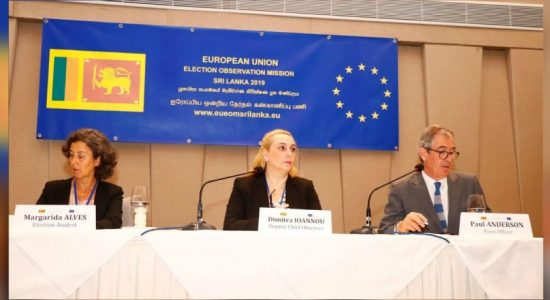 EU deploys Election Observation Mission in Sri Lanka