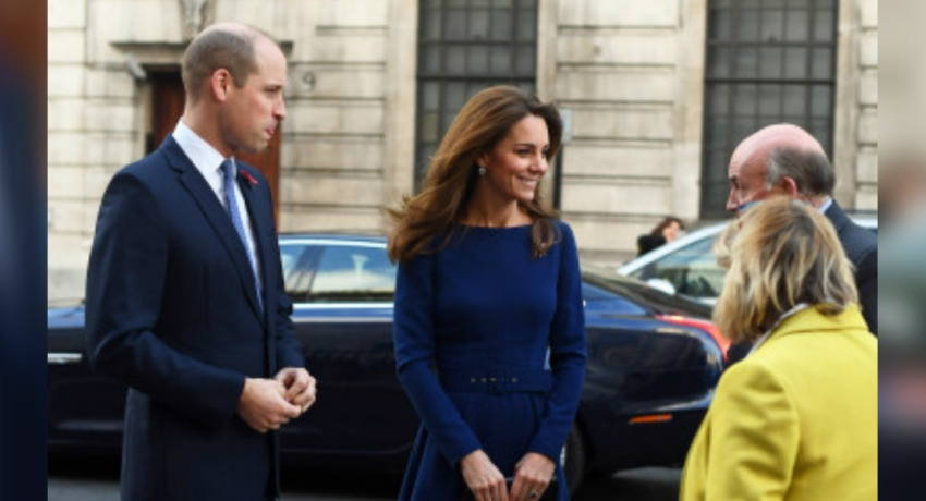 Duke and Duchess of Cambridge attend launch of National Emergencies Trust