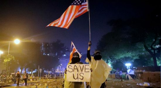 U.S. House approves Hong Kong human rights bill