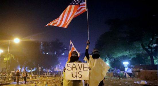 U.S. House approves Hong Kong human rights bill