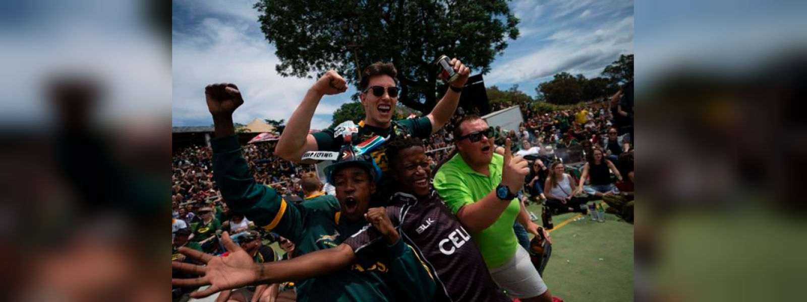 South Africa rejoices as world champion Springboks arrive home with Webb Ellis Cup