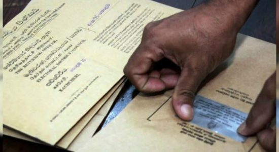Special voting day for postal voters