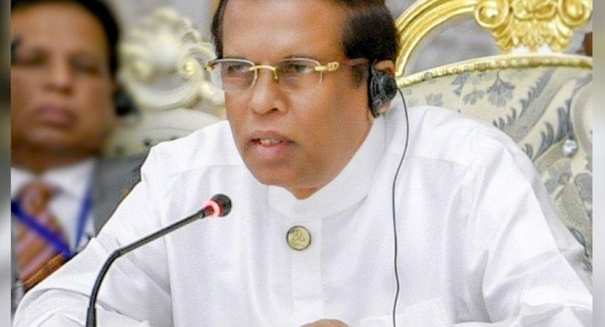 Farewell to President Maithripala Sirisena