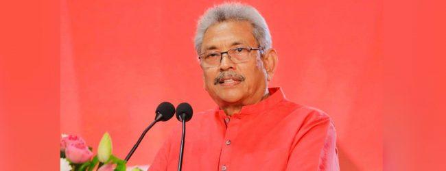 President Gotabaya Rajapaksa in Kandy