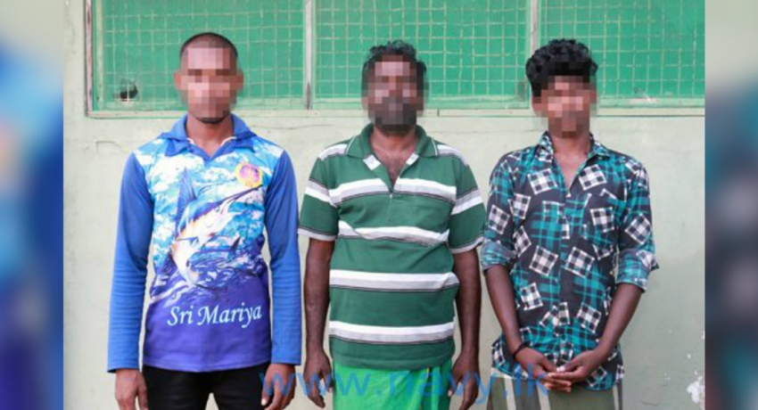 Three Indian fishermen arrested for illegal fishing in Sri Lankan waters
