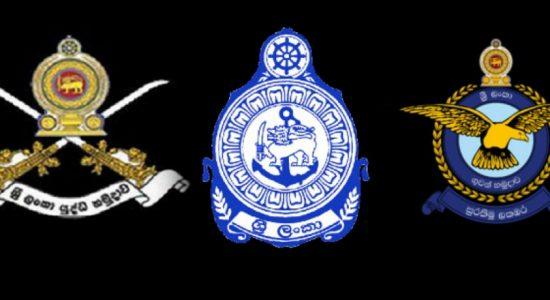 Armed forces deployed to safegaurd public order