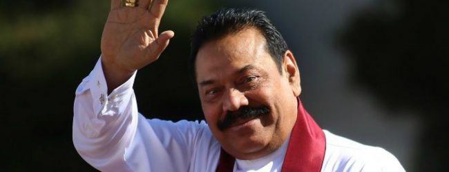 Prime Minister Mahinda Rajapaksa assumes duties at Prime Minister's office