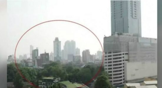 Air quality levels in Colombo down from 150 to 60