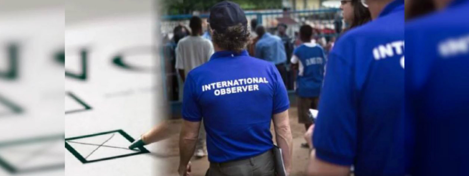 International observers commence activities