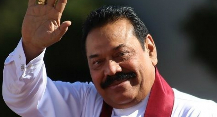 Prime Minister Mahinda Rajapaksa assumes duties at Prime Minister's office