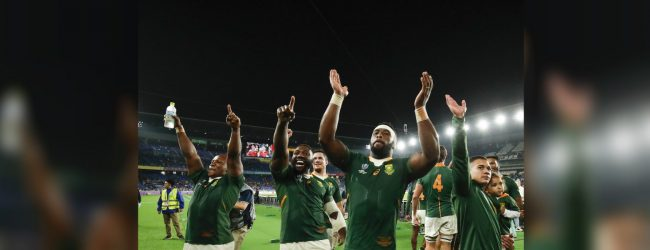 Springboks dominate England to win RWC 2019