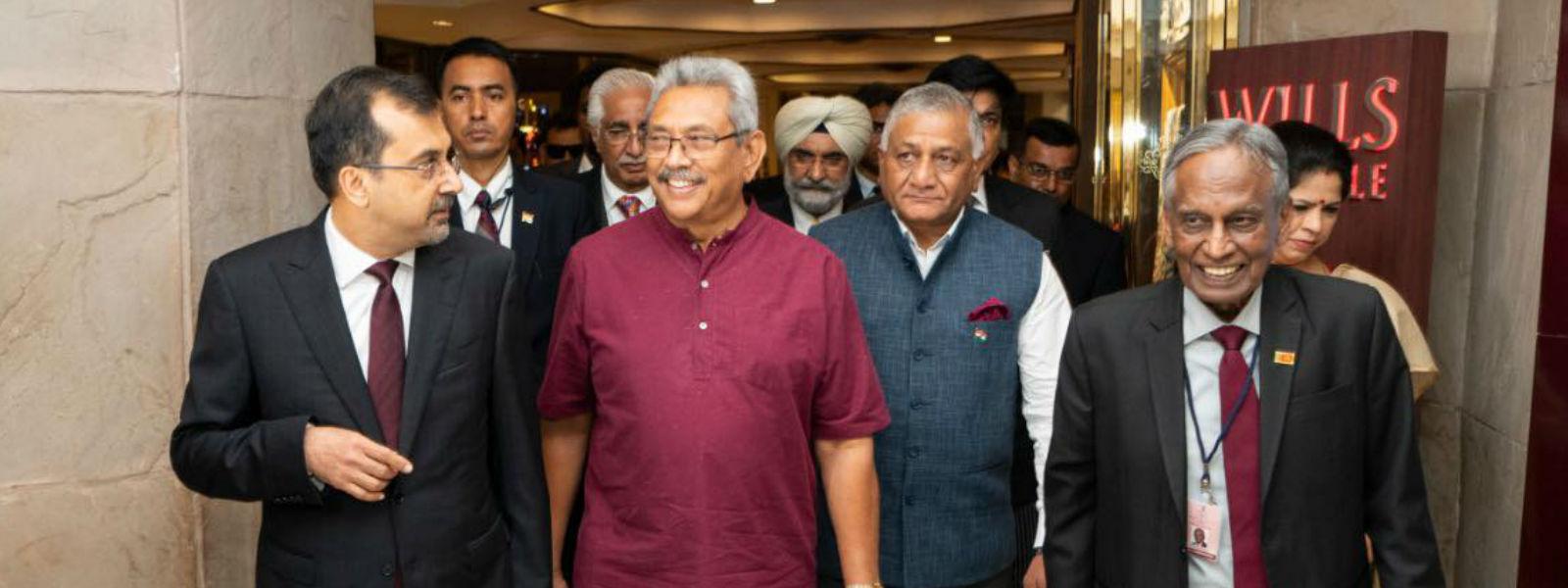 President Gotabaya Rajapaksa to meet Indian PM Modi today