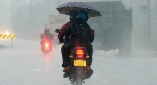 Thundershowers predicted for 3 provinces and districts