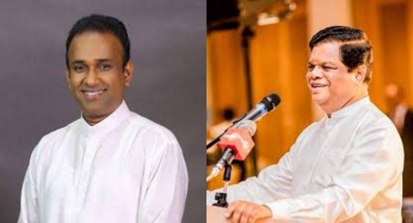Bandula Gunawardana and Ramesh Pathirana named as co cabinet spokesperson