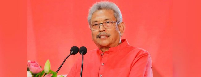 President Gotabaya Rajapaksa assume duties