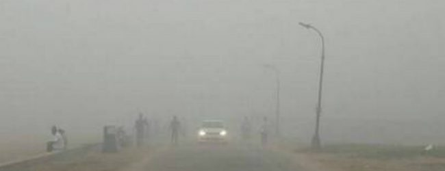 Met Department investigates reported smog