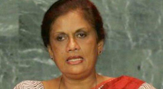 """I didn't establish a new party like Mahinda Rajapaksa did"" – CBK"