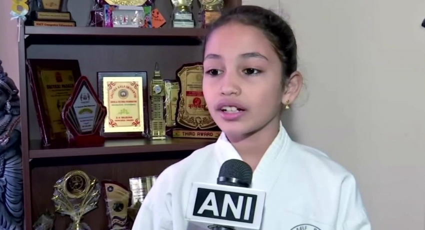 Indian girl shatters world records with martial arts and origamis