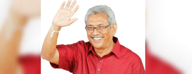 Gotabaya Rajapaksa to be sworn in as President tomorrow
