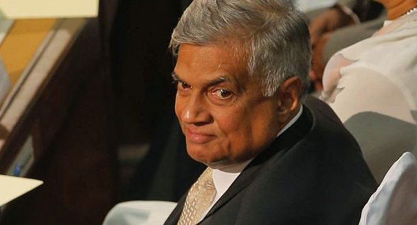 Prime Minister Ranil Wickremesinghe officially leaves temple trees
