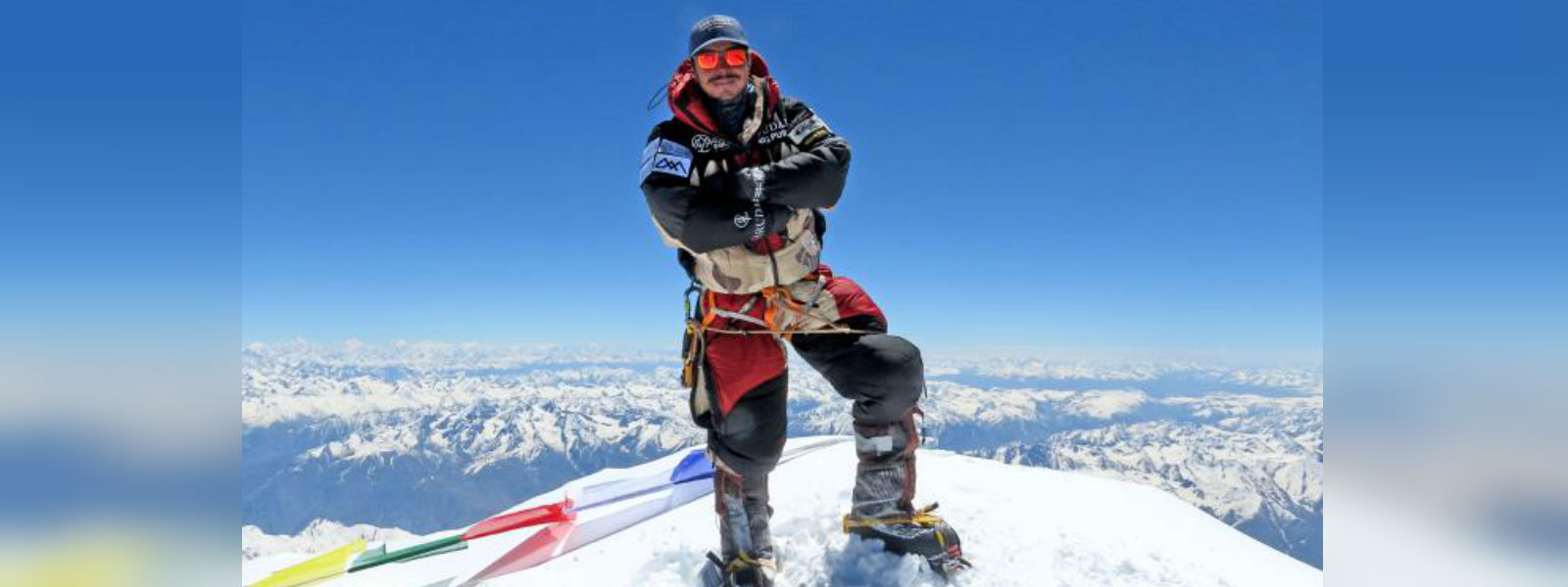 Nepalese climber still soaring after climbing world's 14 highest mountains in record time