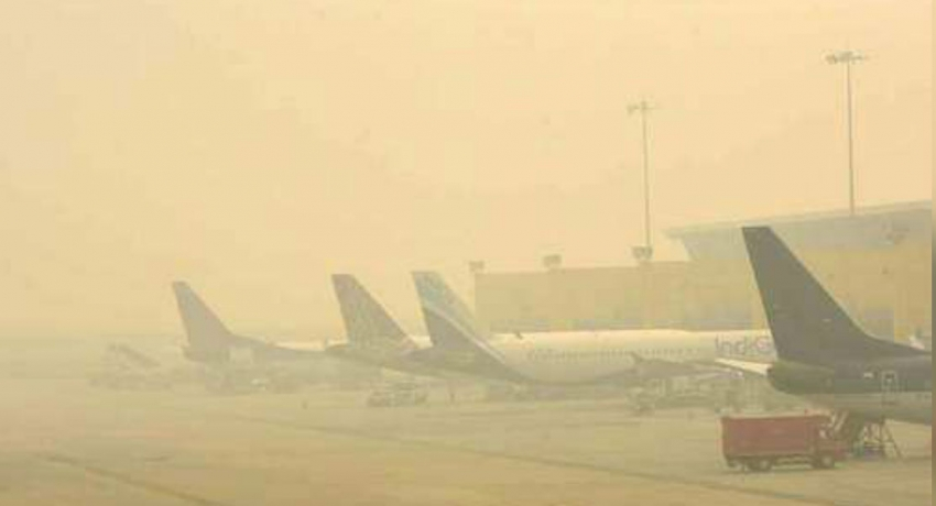 Flights delayed, schools shut as Delhi battles for breath