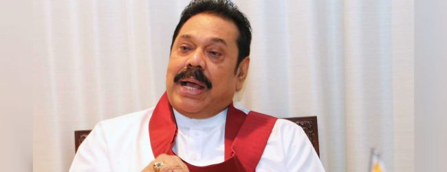 We will review the 19th amendement after swearing-in : Mahinda Rajapaksa