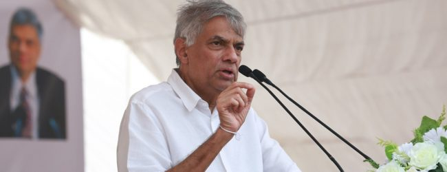 Tamil community in the East has a right to select a chief minister – PM Ranil Wickremesinghe