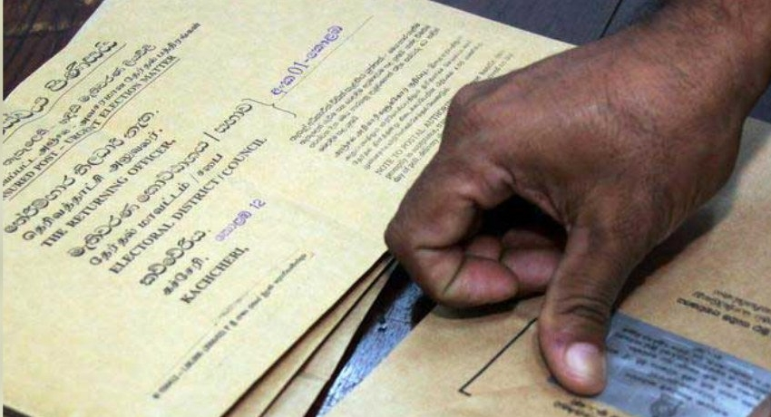 Second phase of postal voting to commence today
