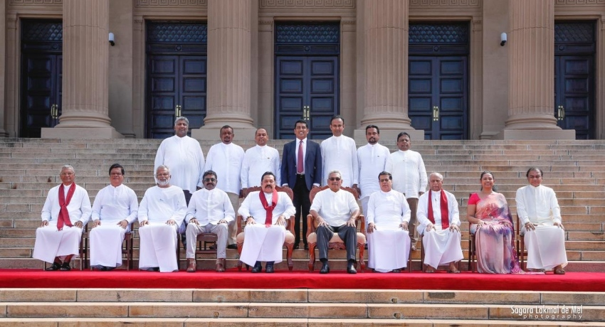 New Cabinet sworn in