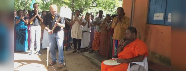 Gammadda: Drinking water for students of Sudarshana Maha Vidyalaya