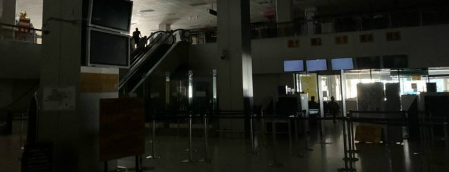Electricity at BIA hampered for a few hours